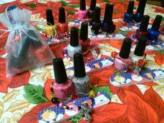 Classroom gifts  Stocking stuffer for girls Secret Santa  Manicure polish nail file Christmas gift idea  Bead bracelet by Naomi Perez