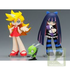 Panty, Stocking, and Chuck.