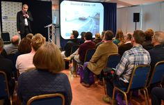 "Michael Heap from CED Ltd presents a seminar on ""Adding long term value through paving with natural stone"""