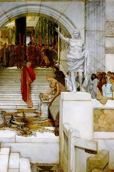 After the Audience, by Sir Lawrence Alma-Tadema