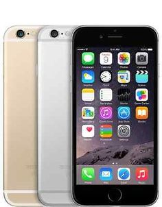 Apple iPhone 6 - 16GB (Factory Unlocked) Smartphone Gold Gray Silver