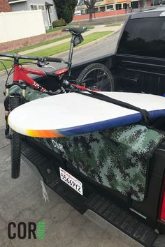 Tie down and secure your surfboards and bikes with our Tailwind Pads. They are easy to install and tie down.