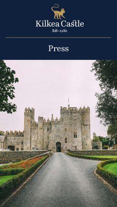 Kilkea Castle in the Media: Best Places to Stay in Ireland.