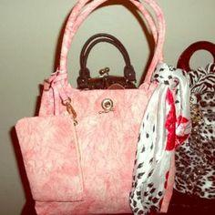 MKB Ventures Handbags - Pretty in Pink Tote Handbag