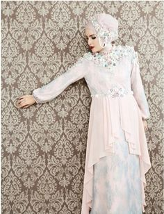 #dress #brides #party #hijab