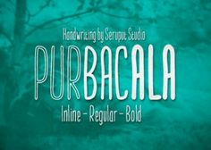 Purbacala Typeface – Free and Pro Versions Available