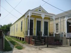 The New Orleans Shotgun House Shotgun house House and Tables