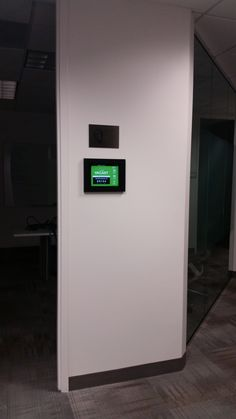 Another VidaMount Metal iPad frame installed by our friends at AppliedSystems.com - as conference room digital signage / display!