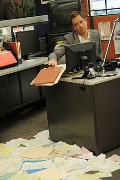 How much does Tony like paperwork?