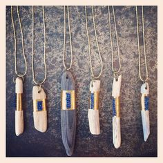 New driftwood amulets by @elena chien now available at Platform! ❤ (at Platform)