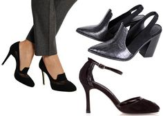 The Best Black Shoes In Every Height