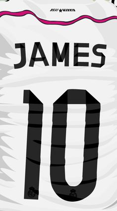 Ilustracion james real madrid on Behance