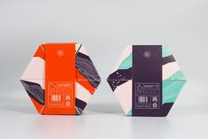 A cookie box, a serving tray, and an all-around conversation starter—SAIKAI is an impressive packaging concept for cookies. Designed by Emma Waleij, Hanna Simu, Alma Lindström, and Maja Ahlund at Mid Sweden University, the pack is made by hand and unfolds from a hexagon.