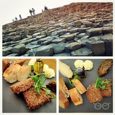 Tutti i tipi di pane irlandesi con salsine a cipolla, a melanzana, il burro...alle giant's causeway ci si mantiene leggeri [joy] #foodiamo #instagood #me #smile #follow #cute #photooftheday #tbt #followme #giantscauseway #girl #beautiful #happy #picoftheday #instadaily #food #swag #amazing #TFLers #fashion #igers #fun #summer #instalike #bestoftheday #smile #like4like #friends #instamood