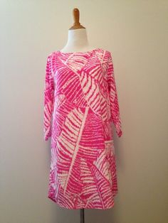 Amazing Leaf Patterned shift dress at C&P