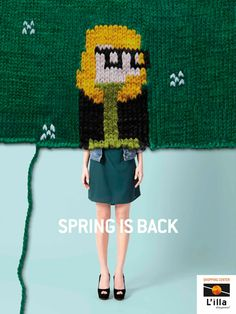 L'illa Diagonal: Spring is back. Agency: DDB, Spain