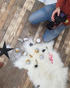 Our photographer @lee_garland shooting a selection of new Christmas decorations amongst fake snow. Despite the sun outside, we're feeling festive today! #Christmas #festive #xmas #decorations #christmasdecorations #interiors #interiorstyling