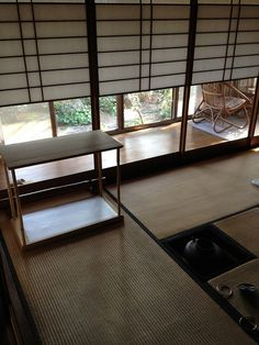 Japanese tea room by sharene Japanese Home Design, Japanese Tea House, Traditional Japanese House, Traditional Style Homes, Japanese Modern, Japanese Homes, Japanese Architecture, Interior Architecture, Japan Interior