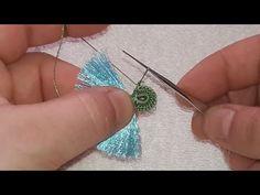 Crochet Borders, Crochet Videos, Hand Embroidery, Tatting, Drop Earrings, Stitch, Youtube, Jewelry, Fashion