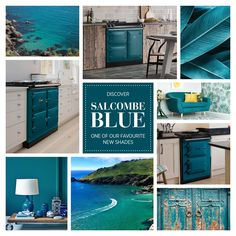 The newest AGA colour, inspired by the idyllic seas of one of Britain's favourite beach towns