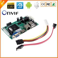Mini NVR Board 1080P 4CH Security Network Recorder Board 4CH 1080P / 8CH 960P ONVIF Email Alert Motion Detection With HDD Cable  Price: $ 38.99 & FREE Shipping   #rc #security #toys #bargain #coolstuff #headphones #bluetooth #gifts #xmas #happybirthday #fun