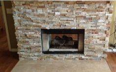 Amazing Fireplace Stone Tiles Gallery