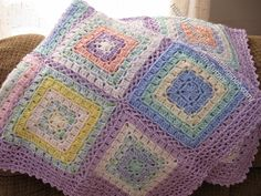 Ideal Delusions: Box Stitch Afghans
