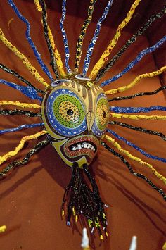 African Mask by Wheat State Traveler, via Flickr