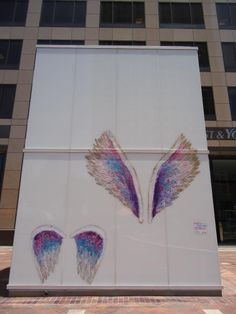 The Global Angel Wings Project created in 2012 to remind humanity that we are the Angels of this Earth   Colette Miller