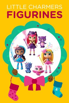 These Little Charmers figurines are just one of the many items in the 12 Days of Nick Jr. Holiday Sweepstakes!