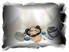 Handcrafted men's bracelet. www.habierose.com