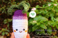 Daikon Amigurumi Free pattern