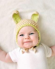 Bunny Earflap Hat