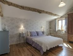 A charming holiday cottage with large rooms retaining many original features. Family Friendly Holidays, Perfect Place, Master Bedroom, Cottage, Flooring, The Originals, Create, Places, Bedroom Ideas
