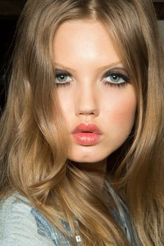 Lindsey Wixson backstage at Jean Paul Gaultier Spring/Summer 2013 during PFW, September 29th