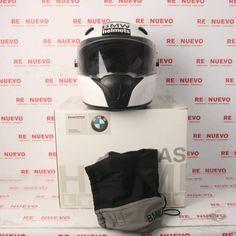 Casco INTEGRAL de moto BMW HELMETS en caja desprecintado E282661   Tienda online de segunda mano #tiendarenuevo #casco #moto #bmw