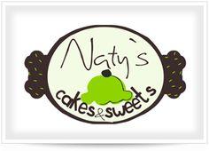 Diseño de Logotipo Naty cakes y sweets http://www.facebook.com/NatysCakesSweets