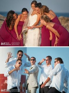 Hilarious Wedding Photo