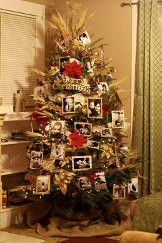 My photo Christmas tree