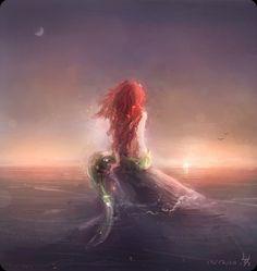 The Little Mermaid art