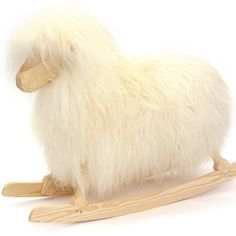 Danish Crafts Rocking Sheep - White (also available in black) 320,00 €
