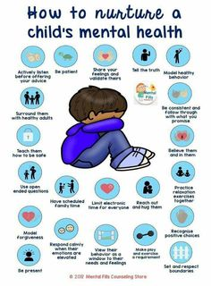 How to nuture a child's mental health