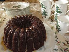 Organically Mo: Kahlua Cake
