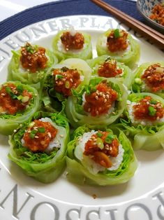 Pasta Recipes, Dessert Recipes, Cooking Recipes, Healthy Recipes, Appetizer Salads, Appetizers, Sushi Rolls, Korean Food, Food Styling
