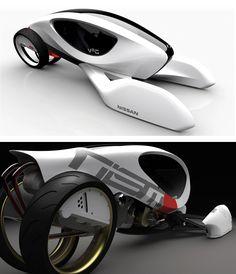 ♂ Nissan V2G concept car 2030 #cars #concept #Nissan #futuristic