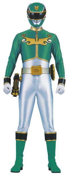 Green Megaforce Ranger