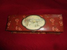 Antique celluloid glove box. by Uniquefinds2 on Etsy, $25.00