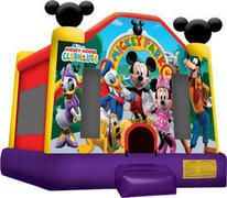 Introducing the famous Mickey Mouse Bounce House! This unit will inject your next party or event with that magical touch that Mickey and his friends can only provide. The Mickey Mouse Bounce House… Bounce House Parties, Mouse Parties, Mickey Mouse Clubhouse Birthday Party, 2nd Birthday, Birthday Ideas, Birthday Parties, Mickey Birthday, Mickey Party, Birthday Decorations