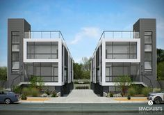 West Hollywood adjacent, new eight home small lot development that is currently in design.