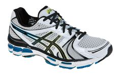 With an exceptional fit and sure stability, the ASICS GEL-Kayano 18 men's road-running shoes deliver performance aplenty for cushioned, supported comfort mile after mile. Stability Running Shoes, Best Running Shoes, Running Cross Training, Road Running, Hot Blue, Asics Men, Mens Fashion, Sneakers, Mens Tops